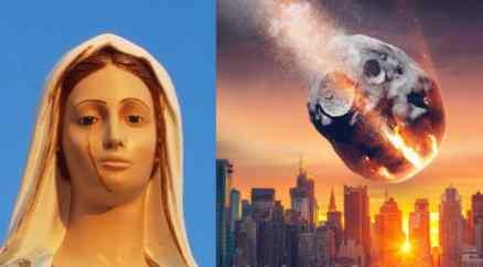 Статуя Девы Марии заплакала в Италии