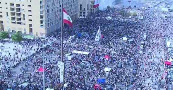 Ливан митинги