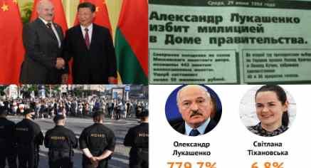 Белоруссию рвут со всех сторон