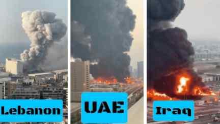 Весь Ближний Восток опять в огне