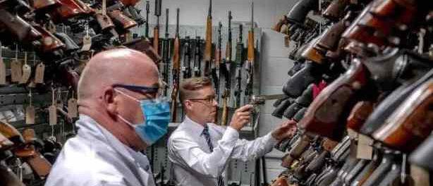 «Как оружие из Америки подпитывает преступность в Великобритании»