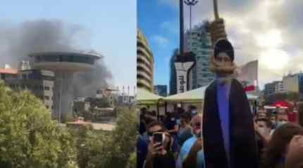 После взрыва в Бейруте в Ливане началась революция