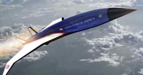 Air force one может развивать скорость звука в 5 раз
