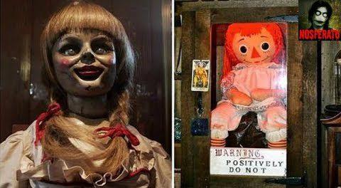 Кукла Аннабель сбежала из Оккультного музея Уоррена в Коннектикуте