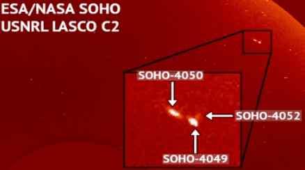 NASA показывает, что возле солнца что-то есть
