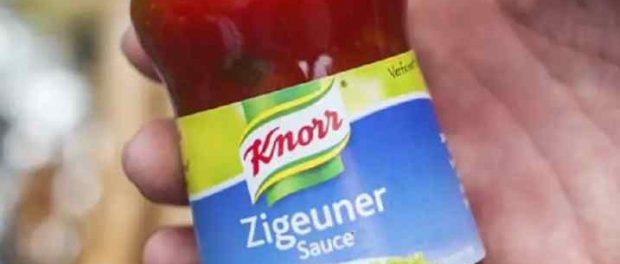 Немецкая продовольственная компания изменит расистское название популярного соуса