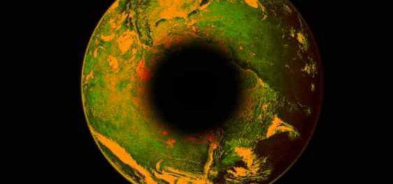 В центре Земли появилась черная дыра
