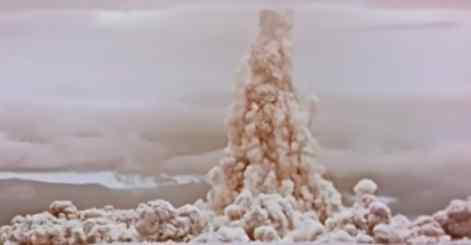 Россия рассекретила видео о крупнейшем в мире ядерном взрыве