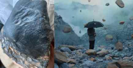 Бразилию закидало метеоритами