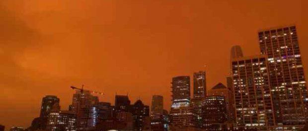 Пожары в Америке теперь как фильме «Бегущий по лезвию 2049»
