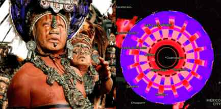 Радар над Мексикой выявил странные фигуры