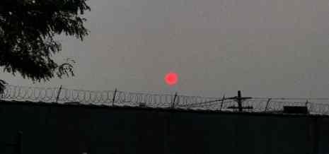Апокалиптическое небо пришло в Нью-Йорк