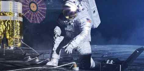 НАСА хочет заплатить частным компаниям за сбор лунной грязи
