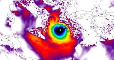 Грецию снесет Ураган Ланос