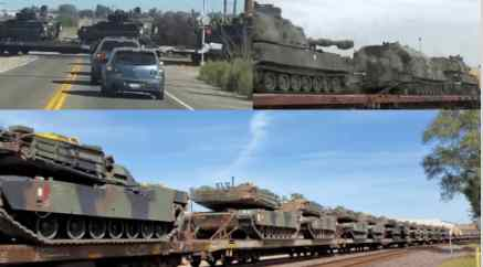 Куда США гонят танки