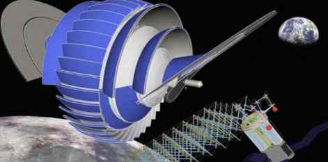 Новый дизайн космической среды обитания имитирует гравитацию вращением
