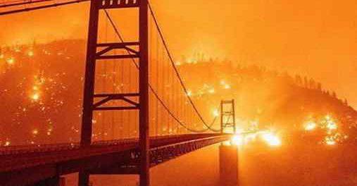 Кто заживо сжигает целые штаты в Америке