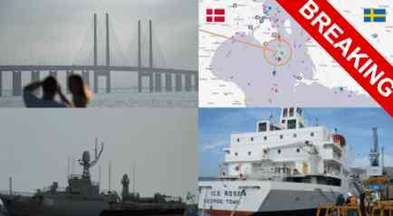В Балтийском море опять авария