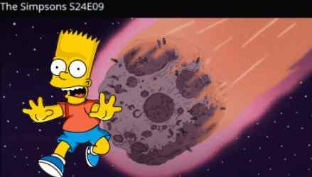 Удар астероида 24 сентября