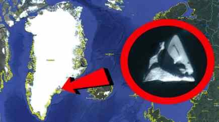 В Гренландии новый огромный НЛО