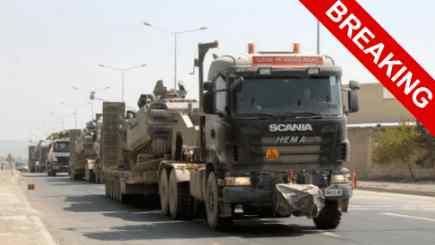 Турция перебрасывает танки в сторону Греции