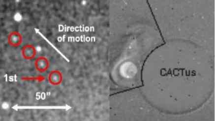 Внутри орбиты Венеры нашли огромный астероид