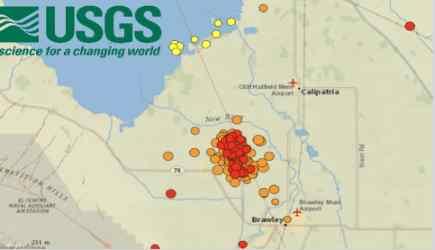 Катастрофа в Калифорнии случиться до 8 октября