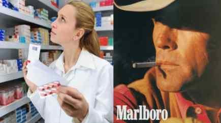 Скоро сигареты будут продавать только в аптеках