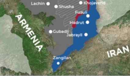 Армия Азербайджана вышла к границам Армении