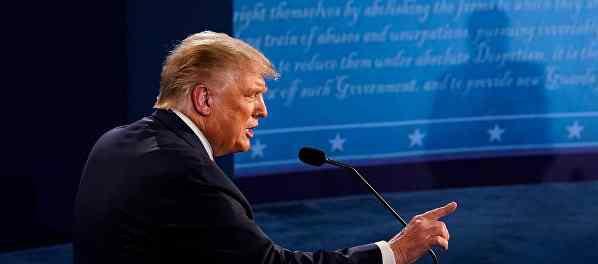 Трамп превратил в дебаты посмешище