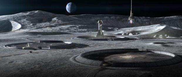 Компания из Техаса нацелена на 3D-печать зданий на Луне с помощью 'Project Olympus'