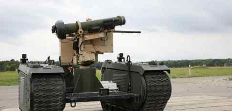 Армия США готовит танки роботы