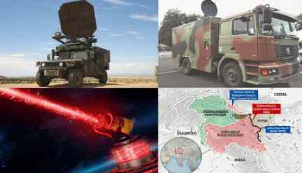Китай против Индии применил лучевое оружие