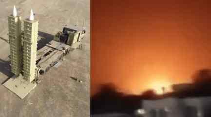 Новейшая система ПВО Ирана впервые показала себя в бою над Сирией