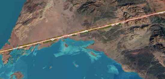 Саудовская Аравия строит город с нулевым выбросом углерода на 100-мильной прямой линии