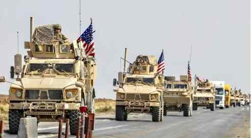 AFP file image: US convoy in Syria