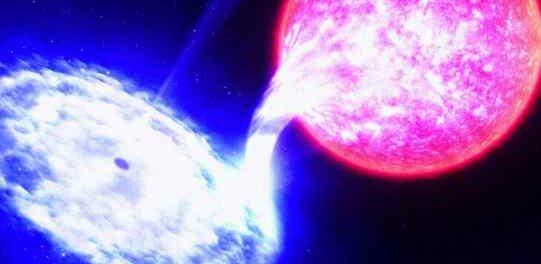 Черная дыра откусывает кусок от этой звезды каждые 114 дней