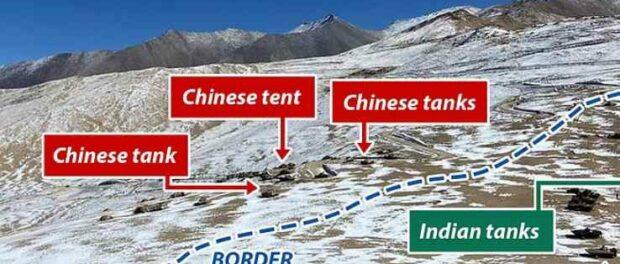 Индия — Китай снова обострение на границе