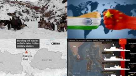 Китай начал обострения на границе с Индией