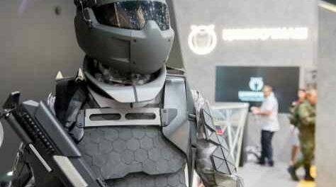 Россия заявляет, что новый боевой костюм переживет пули 50-го калибра