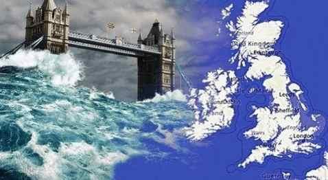 Погрузится ли Англия в океан
