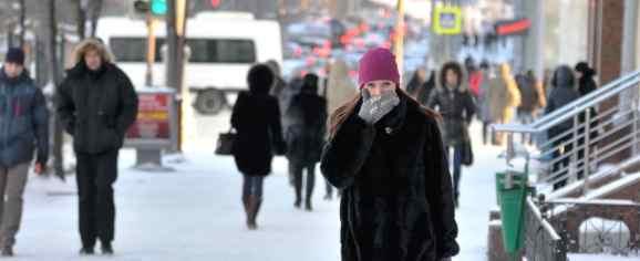 Урал снова долбят аномальные морозы