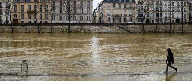 Франция и Германия снова затоплена