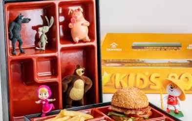 Бренд японских ресторанов «Тануки» подарит маленьким екатеринбуржцам детские наборы «Маша и Медведь»